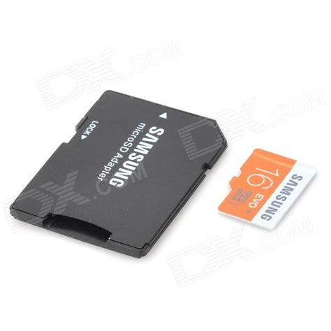 Memory Card Samsung genuine samsung 16gb tf micro sd memory card w sd adapter class 10 free shipping