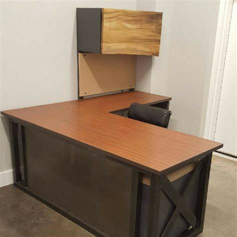 industrial l shaped desk l shaped industrial office desk green clean designs
