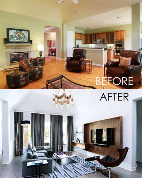 before and after interior design before and after contour interior design