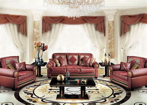 klassisches sofa classic luxury sofa for living room with 3 seats idfdesign