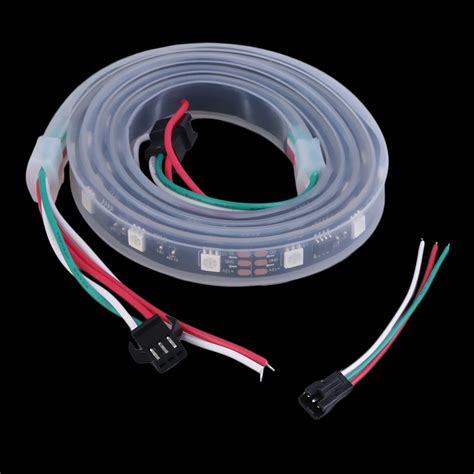 Ws2811 5050 Rgb Led Strip Light Waterproof Addressable Waterproof Led Light Strips