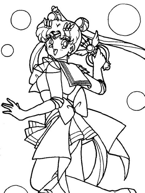 Sailor V Coloring Pages by Sailor Moon Coloring Pages Coloringpagesabc