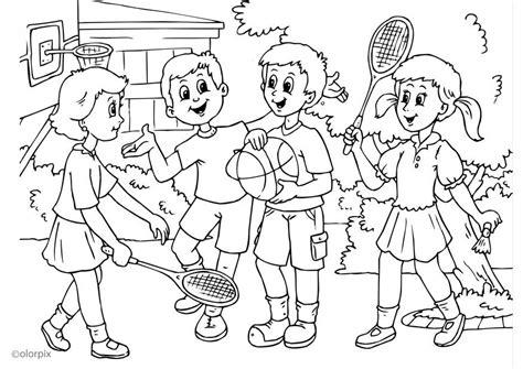 imagenes para colorear sobre la amistad dibujo para colorear a01 amistad img 25905