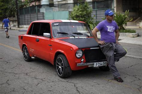 Lada Miami Miami Mechanic Is Mr Fix It For Russian Cars In Cuba