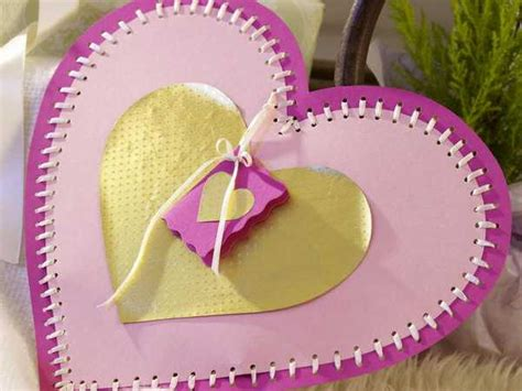 Handmade Paper Craft Gift Ideas - handmade hearts decorations that make great gifts 50