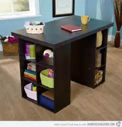 counter height craft table with storage crafting desk with storage whitevan