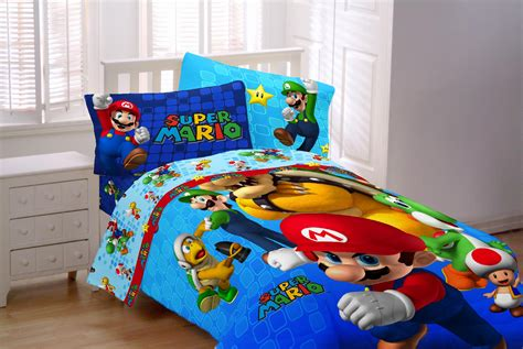 nintendo bed set nintendo mario comforter home bed bath