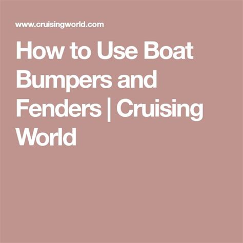 how to use boat dock bumpers best 25 boat dock bumpers ideas on pinterest dock ideas