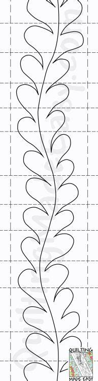 Quilting Stencils For Borders by Best 25 Quilting Patterns Ideas Only On