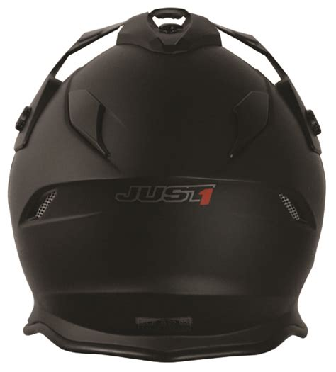Black J34 just1 helmet j34 adventure solid matt black 54 xs jopa
