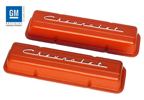 chevrolet small block valve covers chevy small block pre 86 valve covers pml 11106
