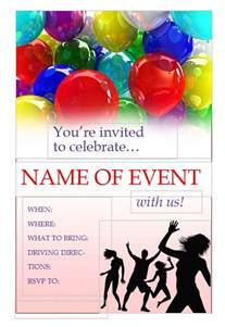 event flyer templates free free printable flyers free flyers