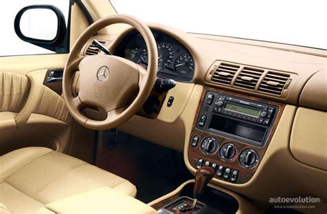 W163 Interior by Mercedes Ml Klasse W163 Specs 1997 1998 1999