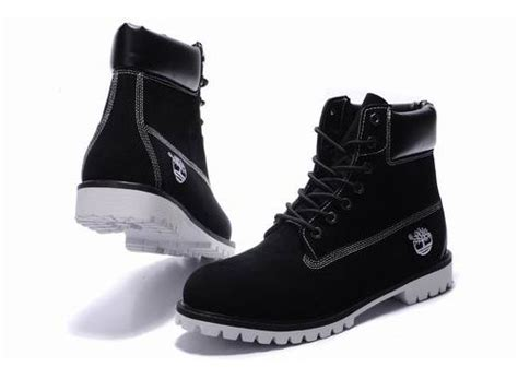 mens timberland boots white sole mens timberland 6 inch boots nubuck black white sole