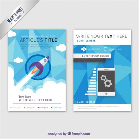 Business Brochure Template by Business Brochure Template Vector Free
