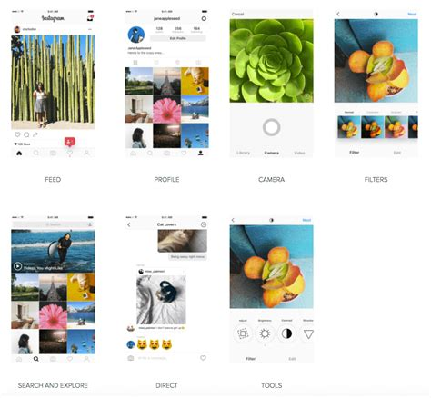 this is what your instagram app might look like soon instagram app new look design thoughts