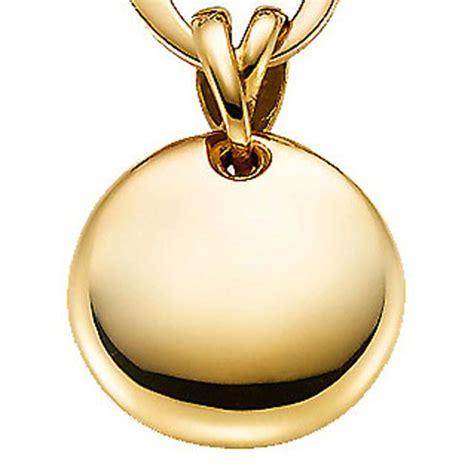 Gold Polieren Preis by Anh 228 Nger Kreis Aus 585 Gold Gelbgold Goldanh 228 Nger Poliert