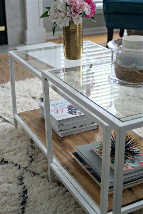 ikea coffee table hack gimme shelter ikea vittsjo coffee table olive ikea hack vittsjo coffee