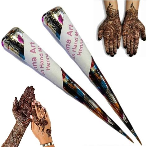 henna tattoo cones henna mehndi kit cones fresh made henna pen ebay