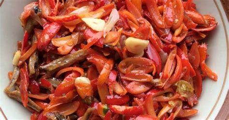 resep tumis melinjo masak rica santan resepkokico