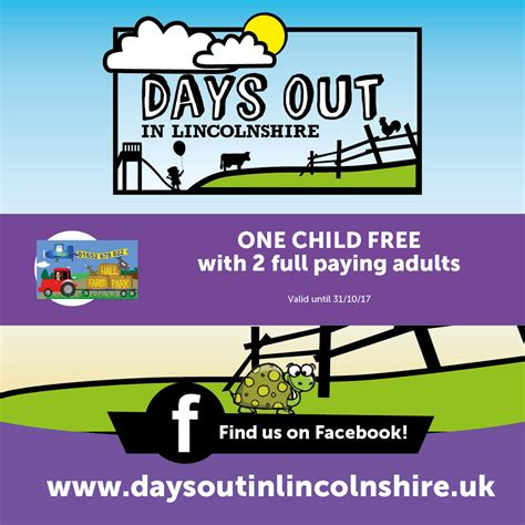 printable vouchers for days out in uk hall farm park days out in lincolnshire