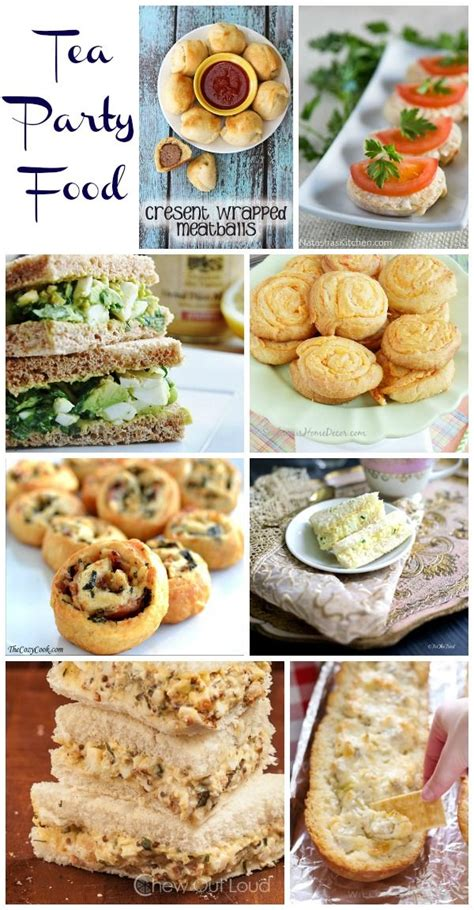 food ideas for afternoon wedding shower tea food for all ages tea birthday shower baby and afternoon tea
