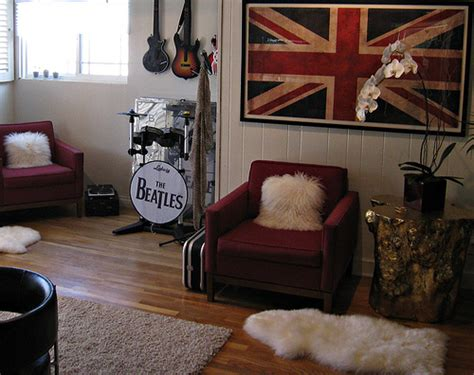 rock n roll room room decorating ideas