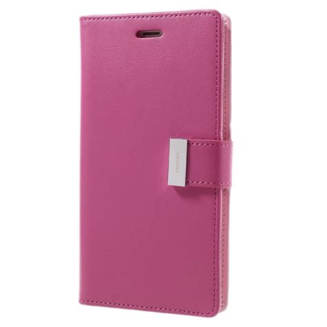 Wallet Mercury Iphone 4 iphone 7 plus iphone 8 plus mercury goospery rich diary wallet pink