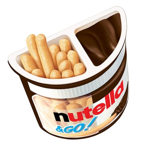 Nutella Go Nutella Go free shipping ferrero nutella and go display
