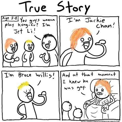 True Stories by Completely Serious Comics True Story