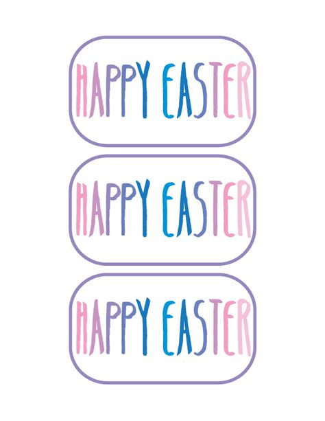 How To Make Stickers Out Of Paper - diy easter gifts free printable stickers is made