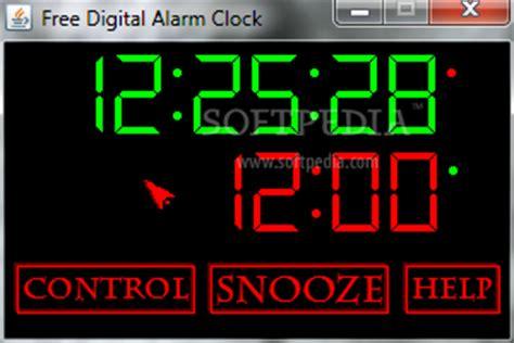 free digital alarm clock 1 0