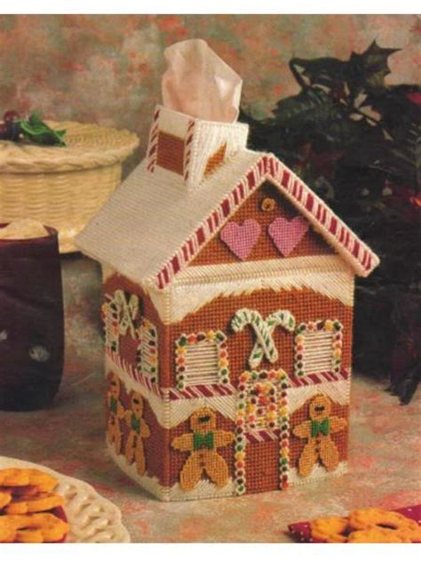 gingerbread house pattern book free plastic canvas gingerbread house pattern