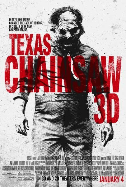 The Greatest Reason To See Texas Chainsaw 3d Texas Chainsaw 3d 2013 Movie Poster Version 02 Hnn