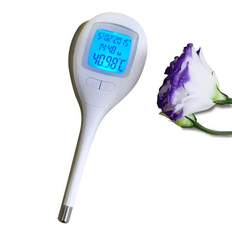 Ovulation Thermometer aliexpress buy digital basal thermometer to measure ovulation day with 60 memories