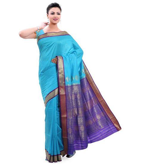 Orderan A N Sari blue bomkai saree buy blue bomkai saree at low price snapdeal