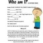 Who Am I Poem Template by 1000 Images About Learningthruenglish And Math On