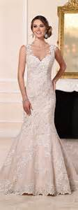 Stella york lace a line trumpet wedding dresses designers outfits
