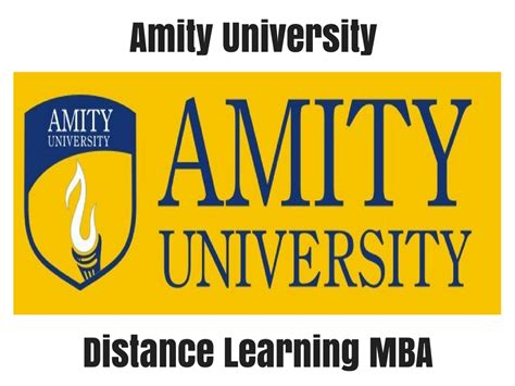 Distance Learning Mba Courses From Delhi by Amity Distance Learning Mba Distance
