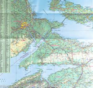 map of the maritime provinces canada itm mapscompany