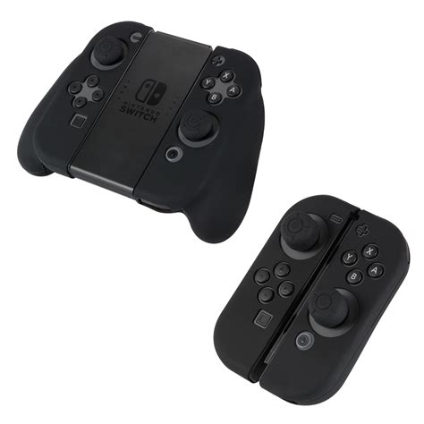 Silikon Silicone Con Nintendo Switch silikon schutzh 252 lle etui cover satz f 252 r nintendo switch con controller ac776 ebay