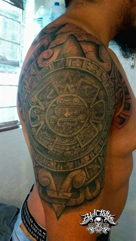 Calendario Azteca Tatuaje Best 25 Tatuajes Calendario Azteca Ideas On
