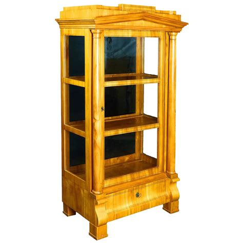 Vitrine Display Cabinet by Biedermeier Period Vitrine Display Cabinet At 1stdibs