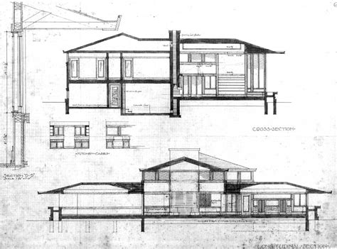 Longitudinal Section Architecture by Architect S Drawing Cross Section And Longitudinal