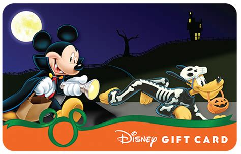 Disney Land Gift Cards - disney s halloween gift cards are glowing
