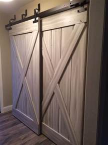 Barn Closet Doors Barn Doors For Closets That Present Rustic Outlooks In Unique Details Homesfeed