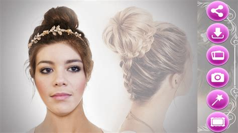 hairstyles for prom games prom hairstyles photo editor android apps on google play