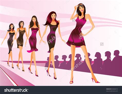 fashion clip clipart models runway clipground