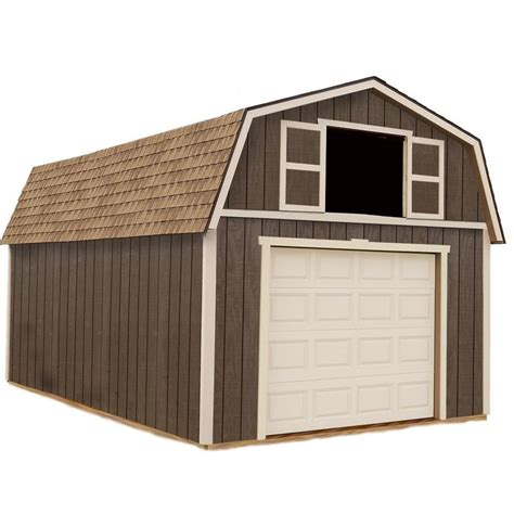 Best Barn Sheds by Shop Best Barns Tahoe Without Floor Gambrel Engineered