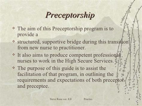 Thank You Letter Nursing Preceptor Nursing Guide To Preceptorship